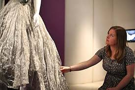 wedding dresses sheffield curator s choice cooper on a wedding dress made out of metal