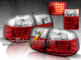 96 98 mustang tail lights matrix racing euro altezza tail lights clear projector headlights