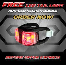 best cycling waterproof amazon com blitzu gator 320 usb rechargeable bike light set