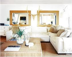Beachy Living Rooms by Beach Living Room White Sectional Neutral Fresh And Chic Beachy