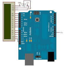 lcd arduino schematic arduino lcd liquidcrystal i2c library