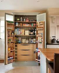 Spice Racks For Kitchen Cabinets Impressive Tall Pantry Cabinets For Kitchen With Pantry Door