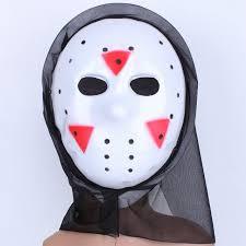 2017 funny halloween masquerade party thickening jason mask terror