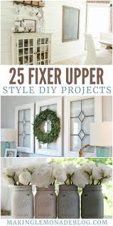 Home Diy Projects by 25 Fixer Upper Style Diy Projects Making Lemonade