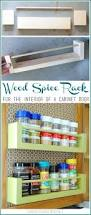 Kitchen Cabinet Spice Rack Slide by Best 25 Spice Racks For Cabinets Ideas On Pinterest Kitchen