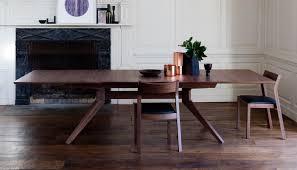 case matthew hilton cross extending dining table