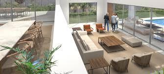 Wohnzimmer M El Marken Neubau Projekt Fünf Moderne Villen In Sol De Mallorca