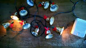 musical twinkling gold christmas bell lights youtube