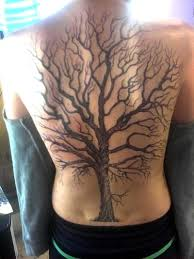oak tree on whole back placement non tacky tattoos