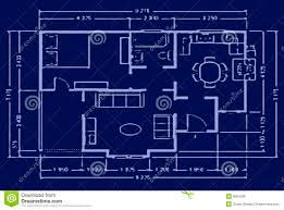 Floor Plan Blueprint Blueprint House Plan Royalty Free Stock Photos Image 9097598