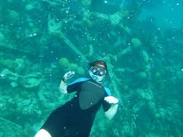 Pennsylvania snorkeling images My husband and i snorkeling in bermuda picture of snorkel jpg