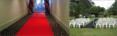 black aisle runner wedding carpet hire white pink royal blue lilac black