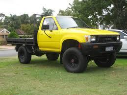 yellow toyota truck randyxr8 1988 toyota hilux specs photos modification info at
