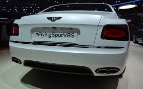 bentley v8s bentley flying spur v8 s a nice middle ground 10 21