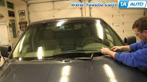 08 Ford F 150 4x4 Wiring Diagram How To Remove Install Wiper Arms 2004 08 Ford F150 Youtube