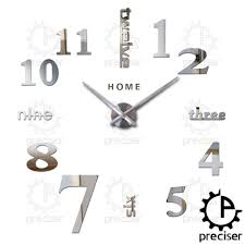 Thailand Home Decor Wholesale by Wholesale Home English Letters Arabic Digital Wall Clock Modern
