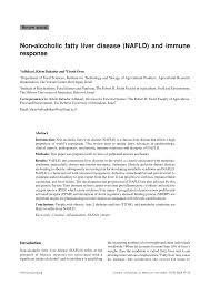 non alcoholic fatty liver disease nafld and immune response