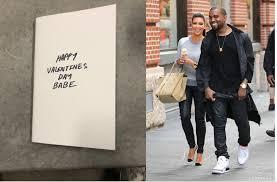 kanye valentines card kanye west returns to instagram sends lovely