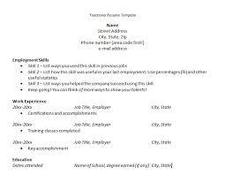 free resume builder resume builder