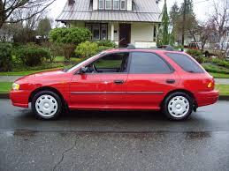 hatchback subaru red 1998 subaru impreza l awd auto sales