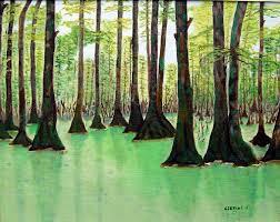 Mississippi scenery images Gene cervini art scenery paintings jpg