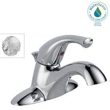 Centerset Faucet Definition by Delta Classic 4 In Centerset Single Handle Bathroom Faucet In