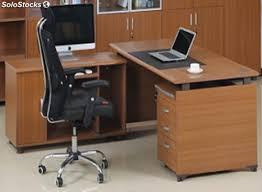 bureau president bureau président retour caisson 3 tiroirs w1800xd1800xh730
