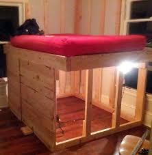 raised mattress frame best 25 diy bed frame ideas only on