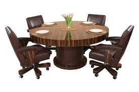dining room poker table horus round poker table pharaoh usa