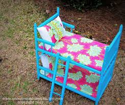 Bunk Bed For Girl by An Upcycled American Girl Doll Bed For My Girls