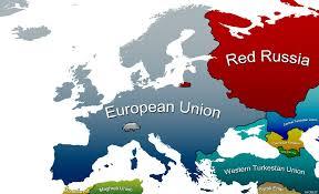 European Union Map Future European Map By Still Ates On Deviantart
