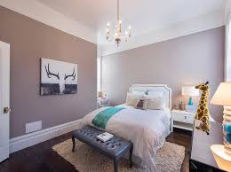 white and mauve teen bedroom with desk nook transitional
