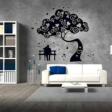 dark love pair wallpapers glow in the dark love couple tree home decor wall sticker bedroom