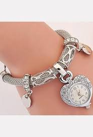 bracelet luxury crystal images New fashion luxury crystal heart gold bracelet clock wristwatch jpg