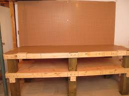 Simple Work Bench Heavy Duty Workbench With Loads Of Storage 16 Steps With Pictures