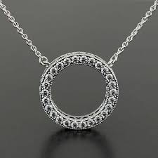 pandora necklace images Authentic genuine pandora silver hearts of pandora necklace 45cm jpg