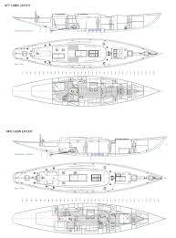 cabin layouts fairlie 77 u2014 fairlie yachts