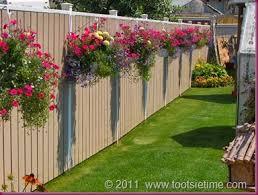 Fence Backyard Ideas by Best 25 Landscaping Along Fence Ideas On Pinterest Privacy