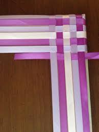 woven ribbon beautiful s day gifts handmade classic woven ribbon frame