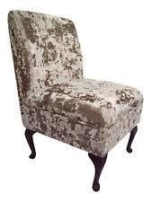 Velvet Vanity Chair Bedroom Crushed Velvet Chairs Ebay