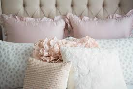 a soft sweet blush worthy bedroom design by havenly the completed and completely gorgeous space