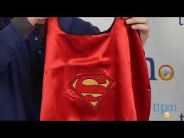 batman u0026 superman reversible super hero cape from rubie u0027s costume