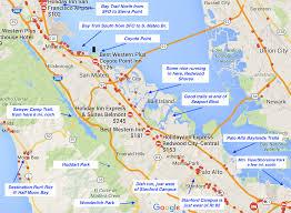 Map Of San Francisco Airport by Great Runs In Silicon Valley U2013 Great Runs U2013 Medium