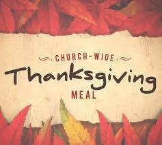 thanksgiving meal prairie baptist church