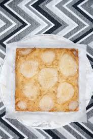 maple cardamom pear upside down cake sippitysup