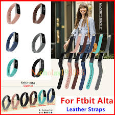 best size bracelet images Best fitbit alta alta hr leather straps band wristband smart jpg