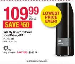 black friday office depot best external hard drive deals for the 2016 black friday sales