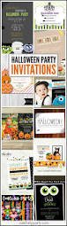 halloween birthday invite halloween party invitation roundup catch my party