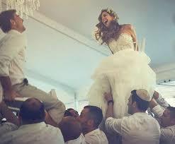 Jewish Wedding Chair Dance Mazel Tov U2013 Jewish Wedding Traditions Letterpress Wedding