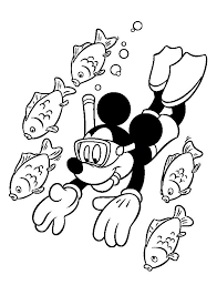 mickey mouse holiday coloring pages summer holiday coloring page picgifs com